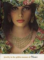 Vintage Jewelry Ads Monet