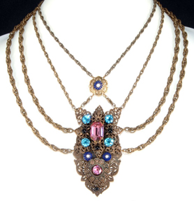 Monet Jewelers 1930snecklace