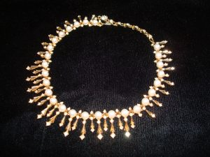 Anne Geyer (formerly of Tiffany & Co.) finished necklace by Ralph Singer Co.